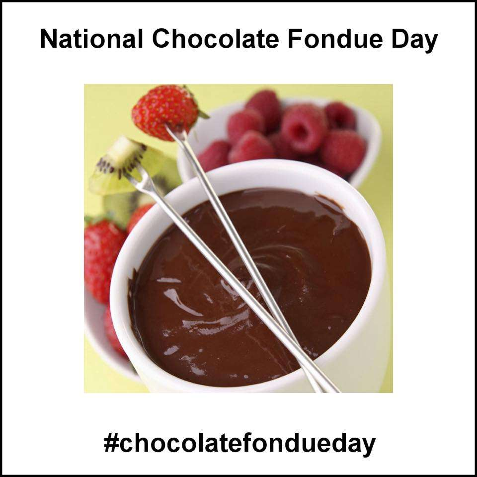 National Chocolate Fondue Day Wishes Images download
