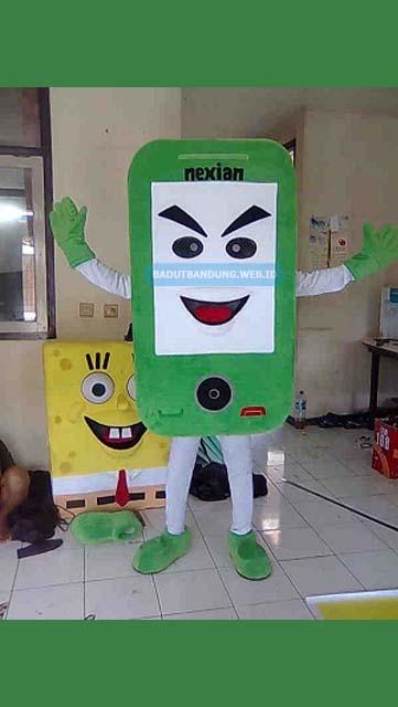 Badut Maskot Nexian Android