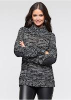 Pulover tricot confortabil si calduros bonprix