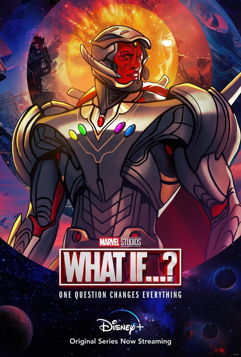 What If…? 1ª Temporada - Poster