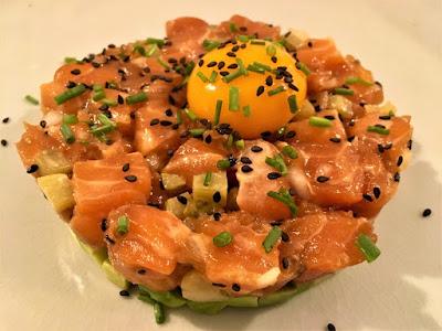 Tartar de salmón - Receta de tartar de salmón - Receta - el gastrónomo - ÁlvaroGP - Content Manager