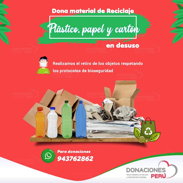 Donaciones Perú