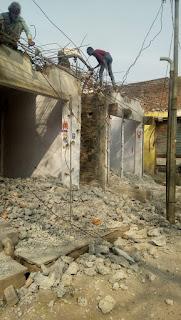 संजय जलाशय मार्ग 40 फीट चौड़ा करने लिए कार्रवाई शुरू