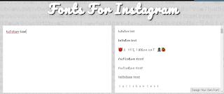 Cara Membuat Tulisan Miring di bio Instagram tanpa aplikasi