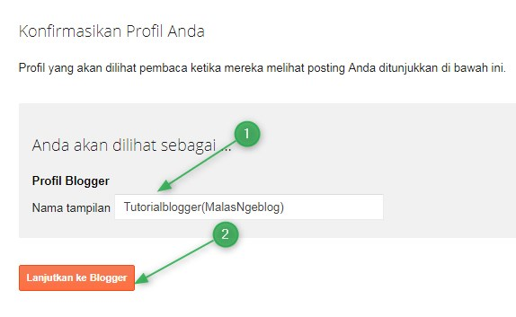 Tutorial Blogger,terbaru,profile,blogger