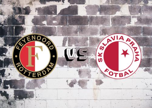 Feyenoord vs Slavia Praga  Resumen