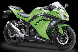 Gambar harga motor sport Kawasaki ninja 250