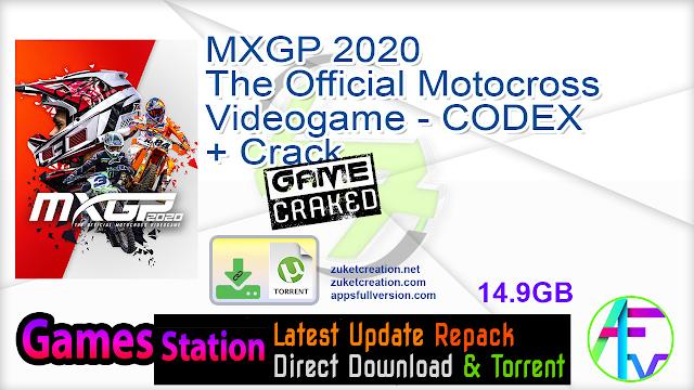 MXGP 2020 The Official Motocross Videogame – CODEX + Crack