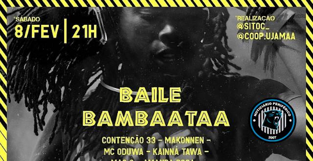 Baile Bambaataa acontece no dia 8 de fevereiro | Saiba onde!