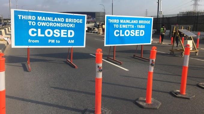 FG Finally Reopens Third Mainland Bridge Totally