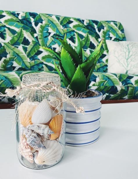 Beach Shell Jar Ideas
