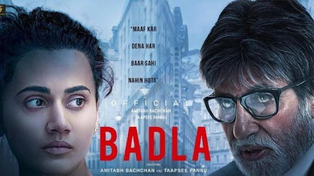 Badla (2019) [720p HDRip] Bollywood Movies Full Movie Download, Free Download Bollywood Movies Badla (2019)