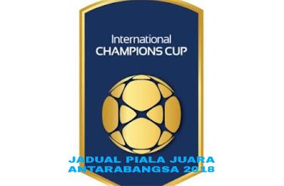 Jadual dan Keputusan Piala Juara-Juara Antarabangsa 2018