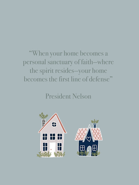 home lds quote