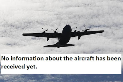 No information about the aircraft has been received yet.