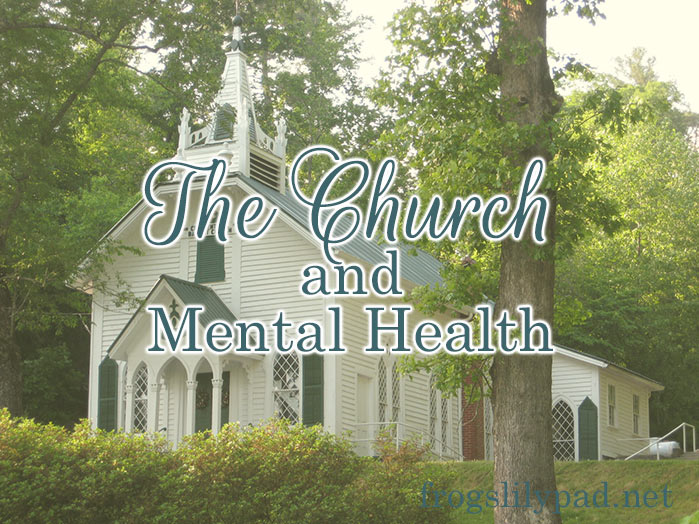 Mental health is a subject the church needs to address and not sweep under the rug any longer. It's not a sin to suffer from a mental illness. But it is a sin when we ignore those who are suffering.