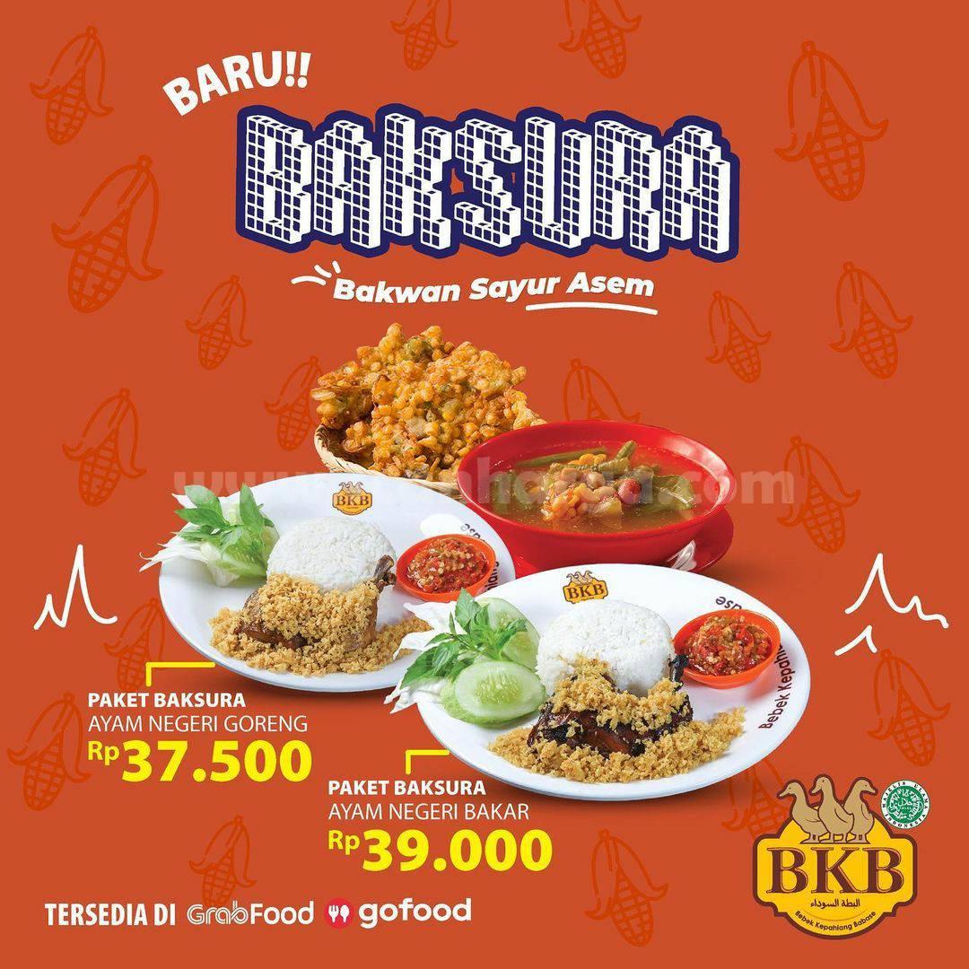 Promo BEBEK BKB PAKET BAKSURA Bakwan Sayur Asem Harga Mulai Rp 37.500