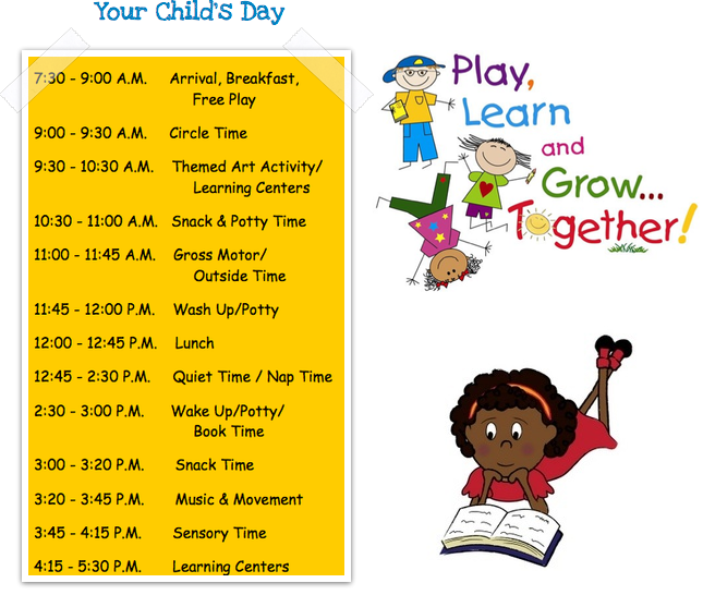 child care daily routine template - daily schedule template on pinterest party invitations ideas