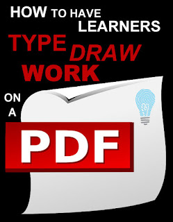 How to Have Students Type on a Pdf