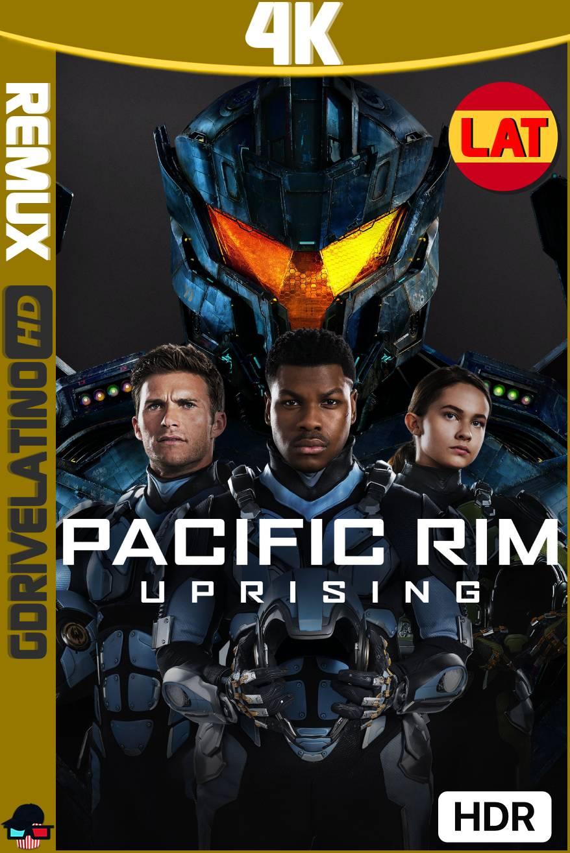 Titanes del Pacífico: La Insurrección (2018) BDRemux 4K HDR Latino-Ingles MKV