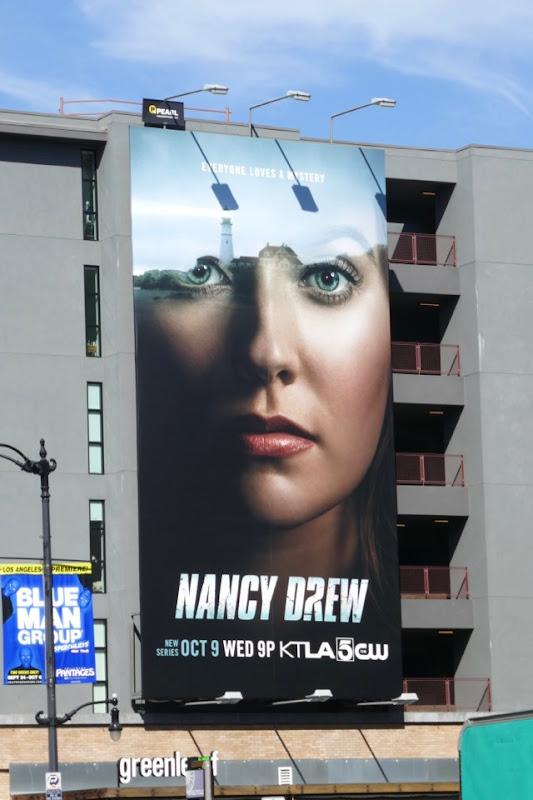 Nancy Drew series premiere billboard