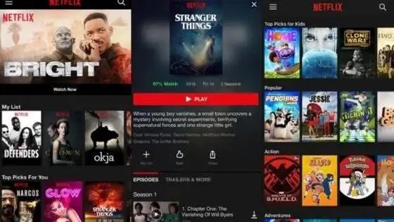 جديد Netflix Android 8.1.0.9.40014