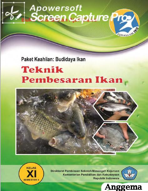 Buku Pendederan dan Pasca Panen Kelas XI SMK Kurikulum 2013