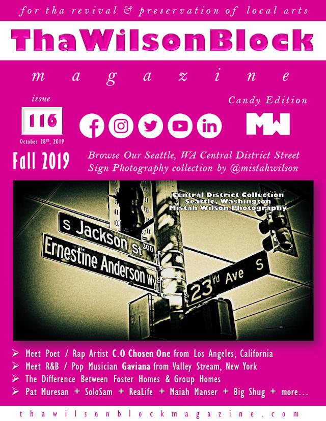ThaWilsonBlock Magazine Issue116 Candy Edition (Fall 2019)