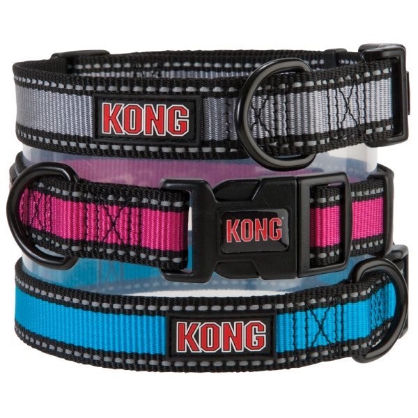 Kong Dog Collars Sale Various Colors And Sizes Reflective Or Comfort 4 49 Reg 12 15