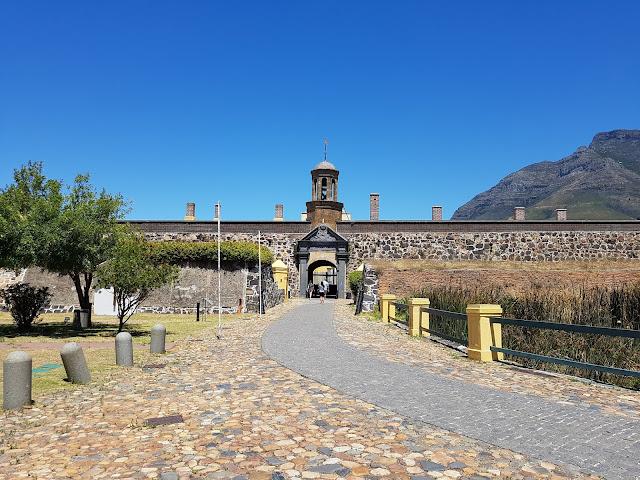 Castelo da Boa Esperança - Cidade do Cabo - África do Sul