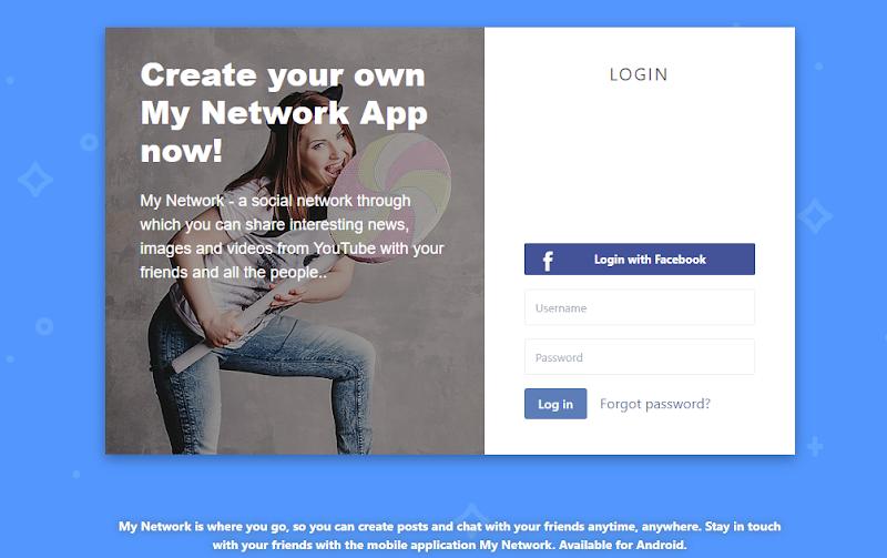 Minha rede social (Aplicativo e Site) v6.0 Download Grátis