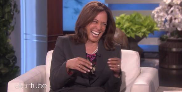 "Sen. Kamala Harris (D-CA) Cracks DEATH JOKE About President Trump on ""Ellen"" (VIDEO)"