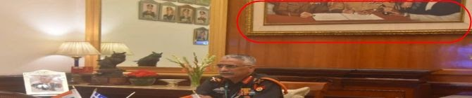 General Lalousis Speaks With Indian Counterpart: What Was The Photograph Behind The Indian General? — Greek Media