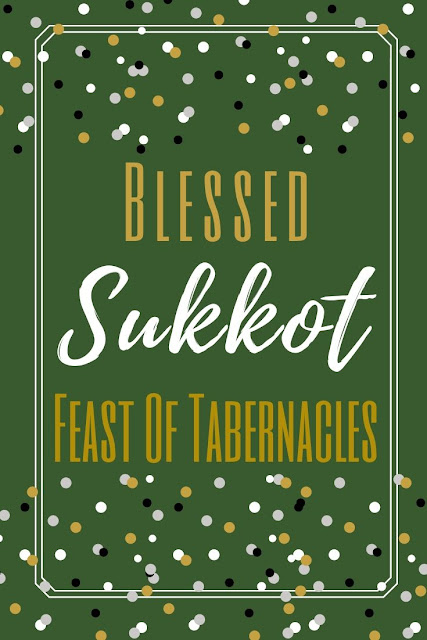 Happy Sukkot Festival Greeting Card | Feast Of Tabernacles | Chag Sukkot Sameach | 10 Free Unique Greeting Cards