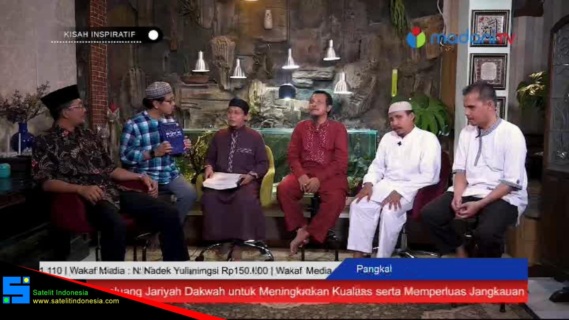Frekuensi siaran Madani TV di satelit Telkom 4 Terbaru
