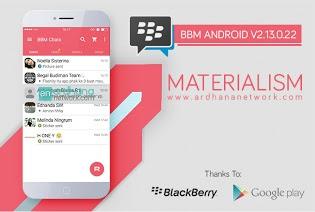 BBM Mod Materialism Pink Versi Lawas 2.13.0.22 - CLONE