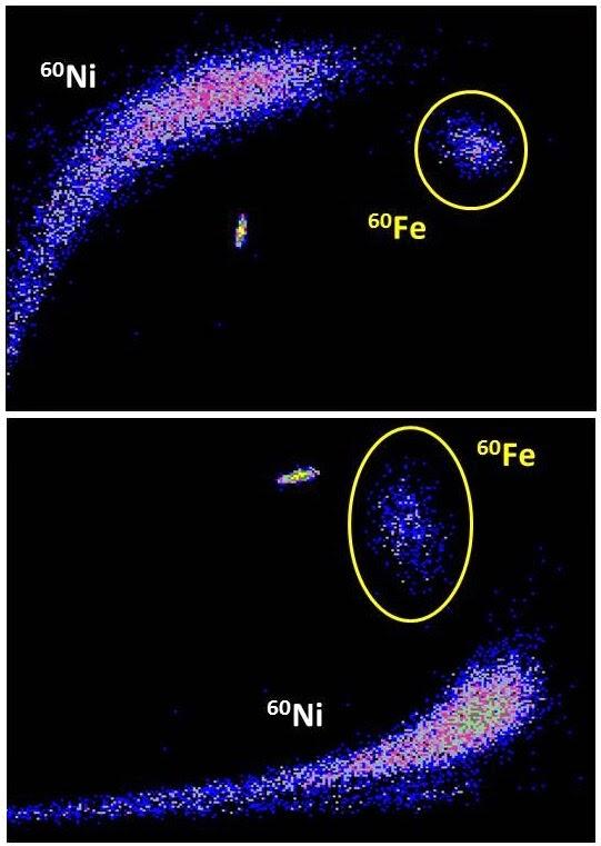 Nucleosynthesis iron
