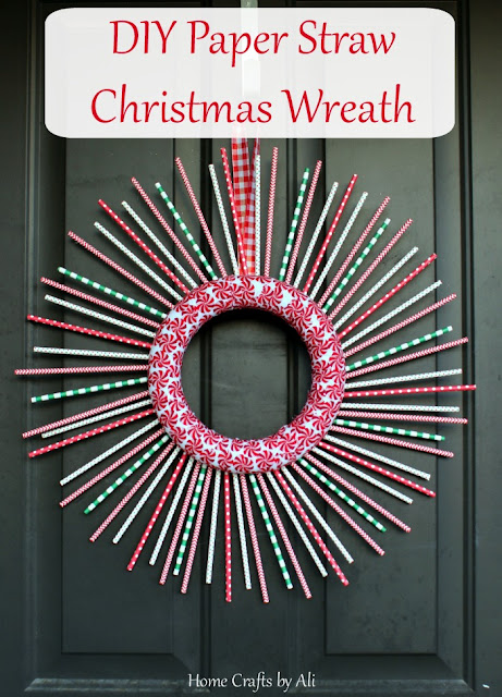 christmas holiday wreath decor DIY