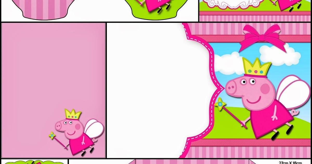 Peppa Pig Fairy: Free Printable Invitations. | Oh My ...