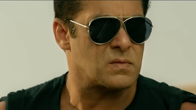 salman khan wearing goggles in race 3