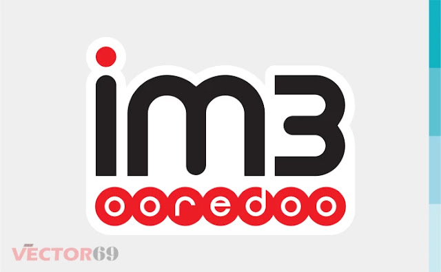 Logo im3 Ooredoo - Download Vector File SVG (Scalable Vector Graphics)