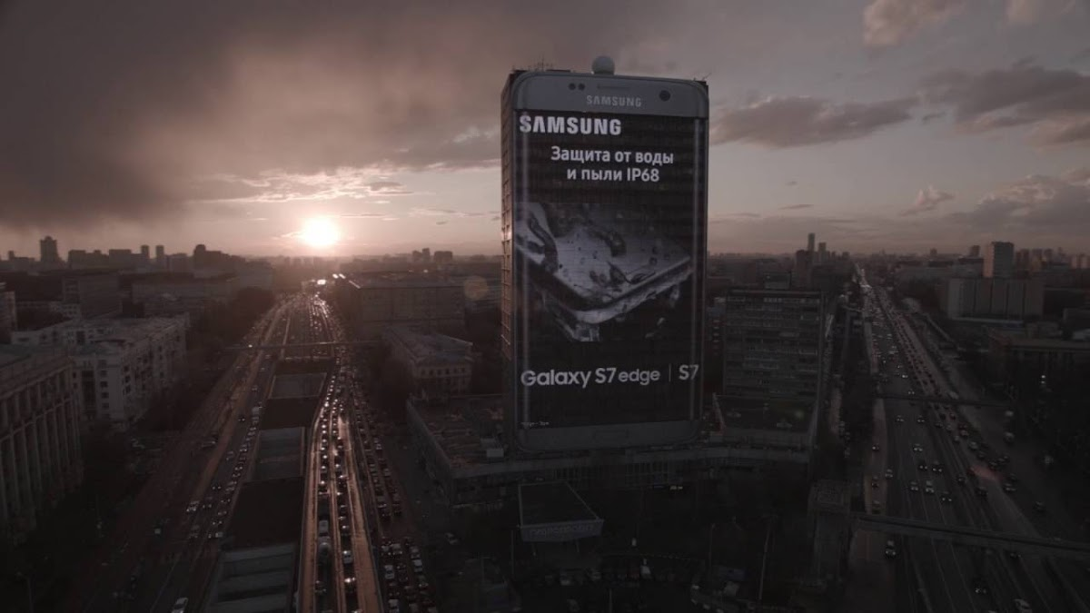 Europe's Largest Samsung Galaxy S7 edge Appears in Russia