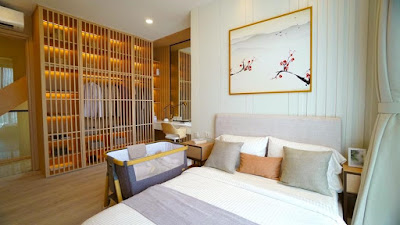 Master Bedroom di The Flexible Cluster Osaka
