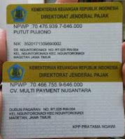 LEGALITAS CV. MULTI PAYMENT NUSANTARA