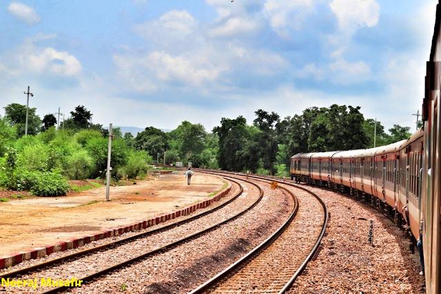 रायपुर से केवटी पैसेंजर ट्रेन यात्रा