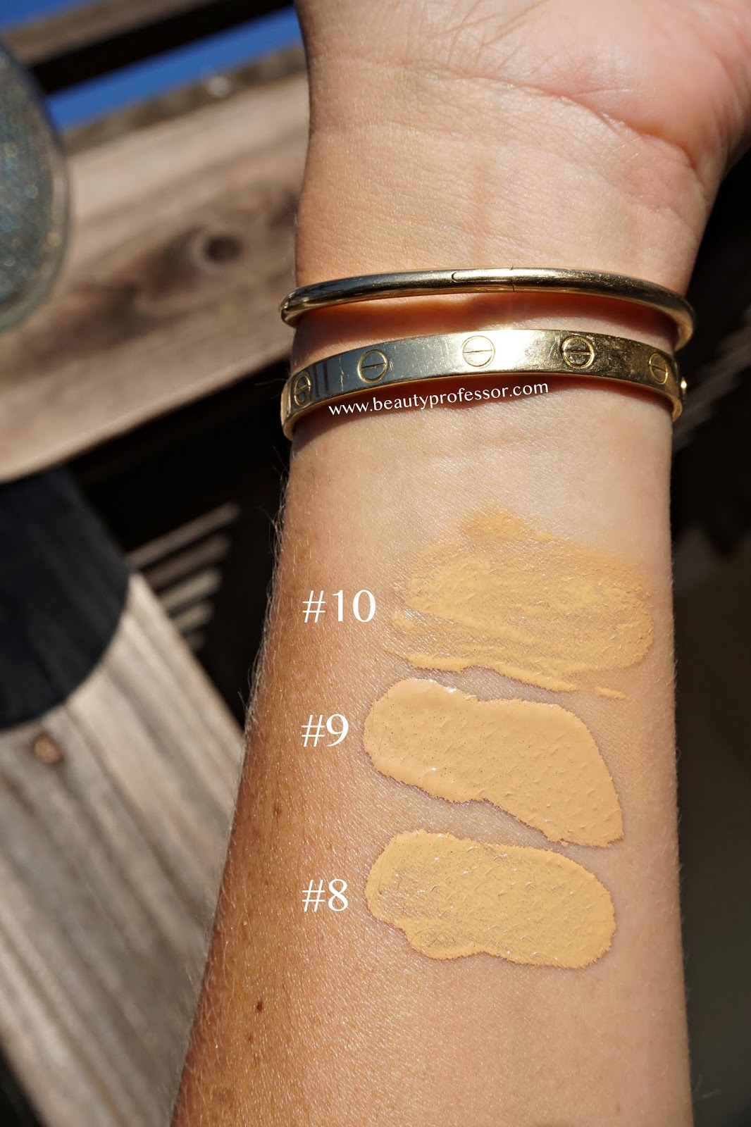 surratt dew drop foundation swatches