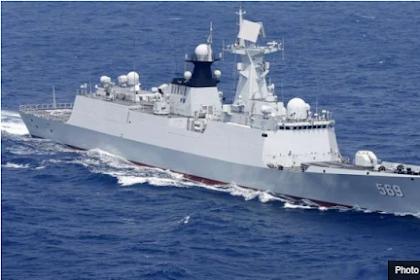 Ternyata China Melesat Jadi Raja Perang Laut Dunia