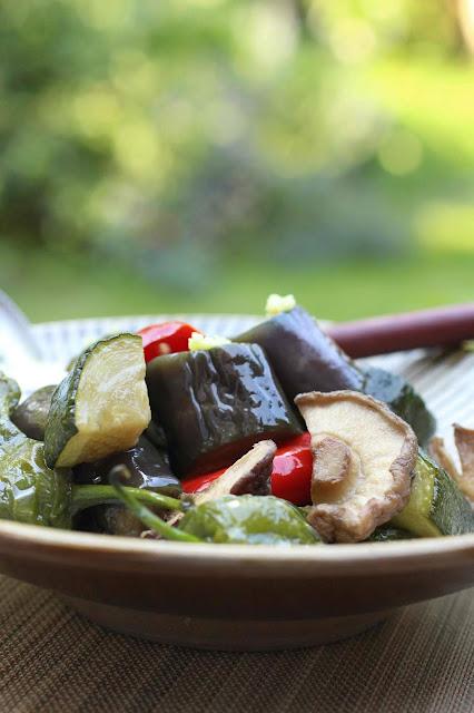 recette froide legumes japon