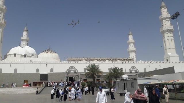 جدول صلاة التراويح في مسجد قباء 1440