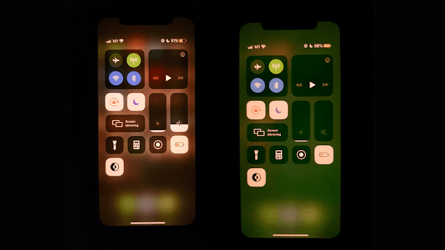 New green display bug on the iPhone 11 series